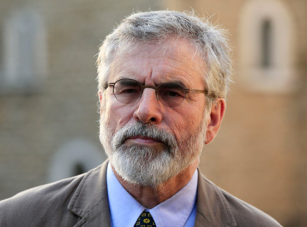 Gerry Adams has insisted that the IRA was not involved in the murder of Kevin McGuigan