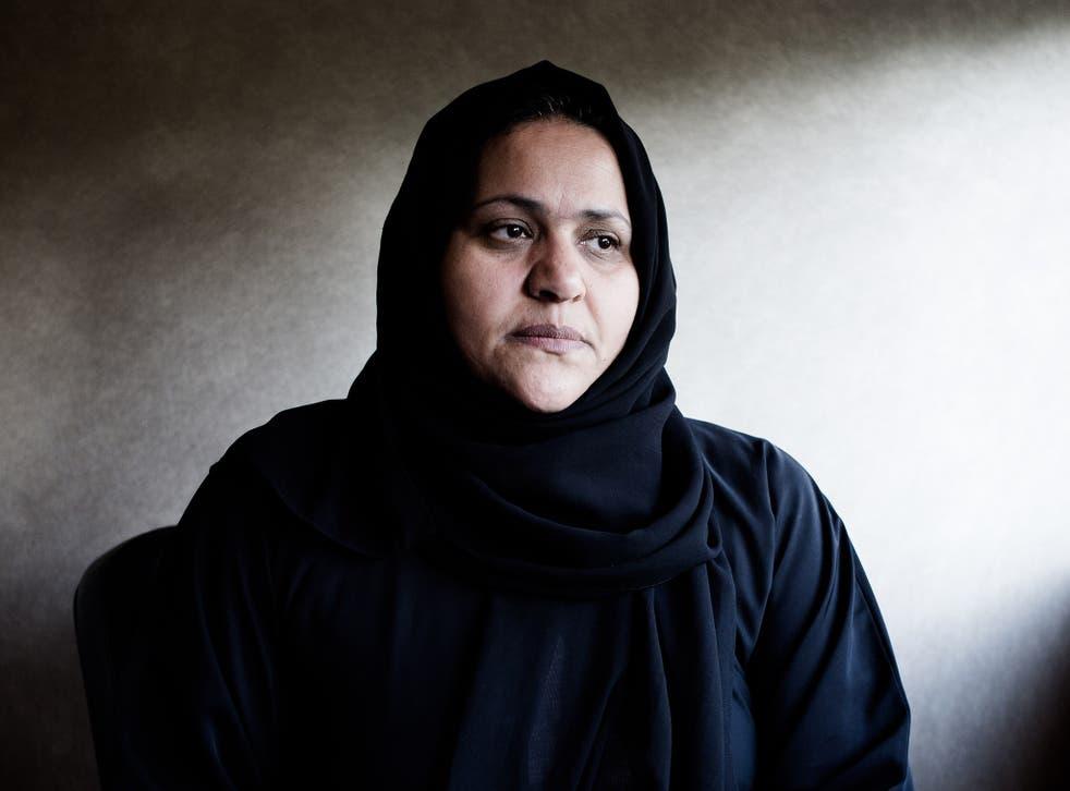 Fatma Farkash, wife of Abdullah al-Senussi