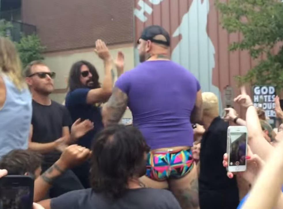 Dave Grohl 'Rick Trolls' the Westboro Baptist Church in Kansas City