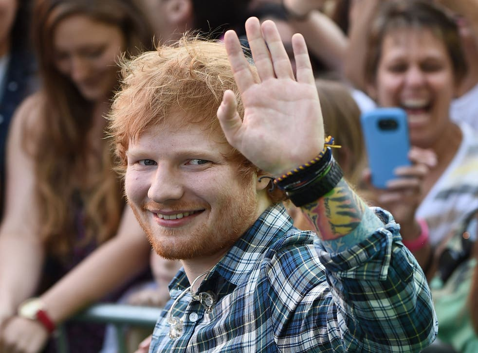 Ed Sheeran is rumoured to be taking a break to help local causes