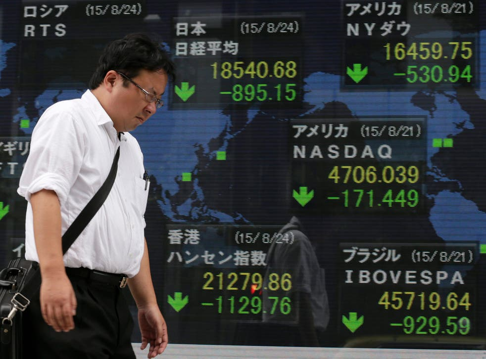 """China's """"Black Monday"""" has plunged the global financial markets into chaos."""
