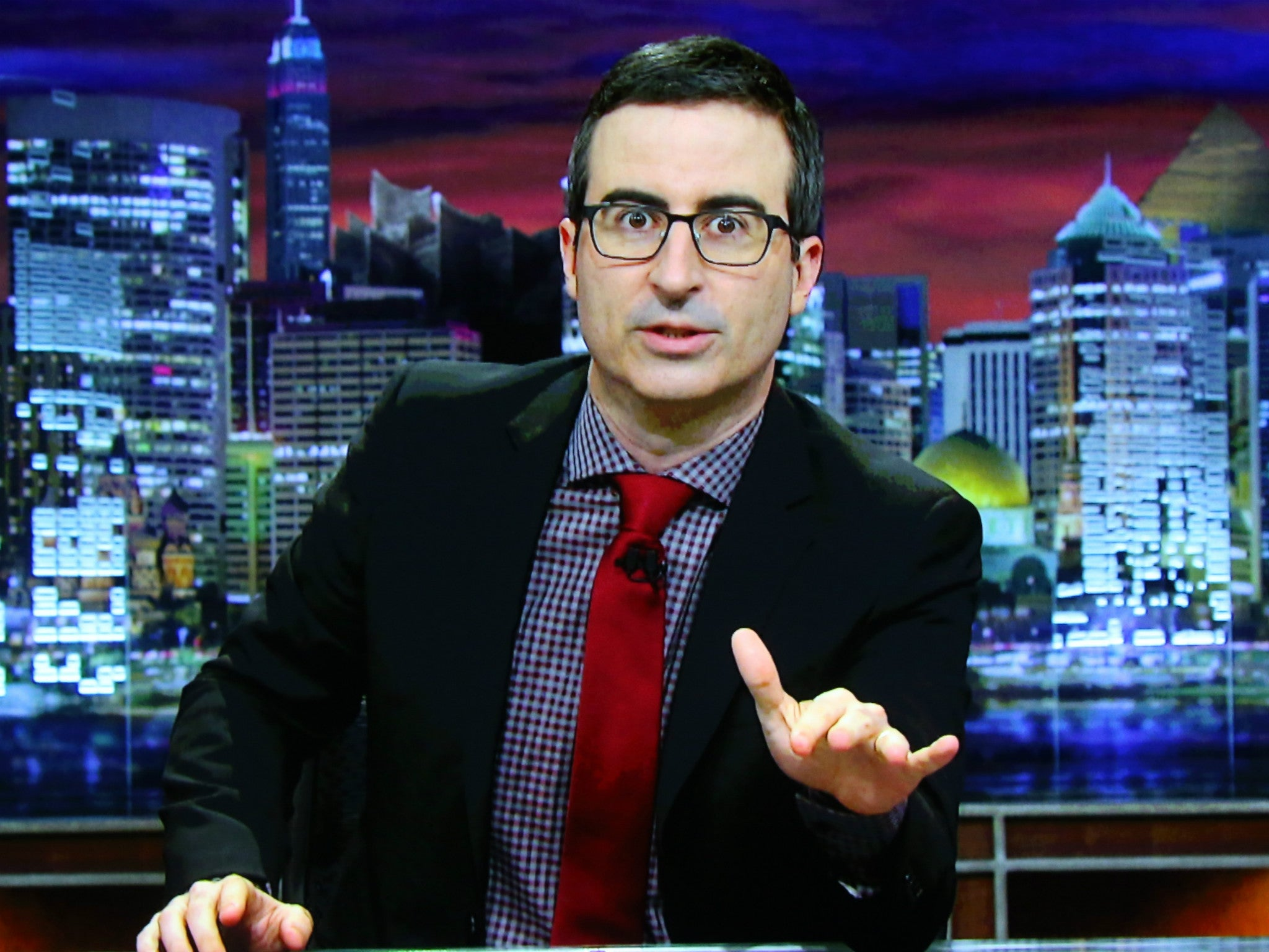 John Oliver's warning about Donald Trump's presidency quickly becoming normal proves to be prophetic