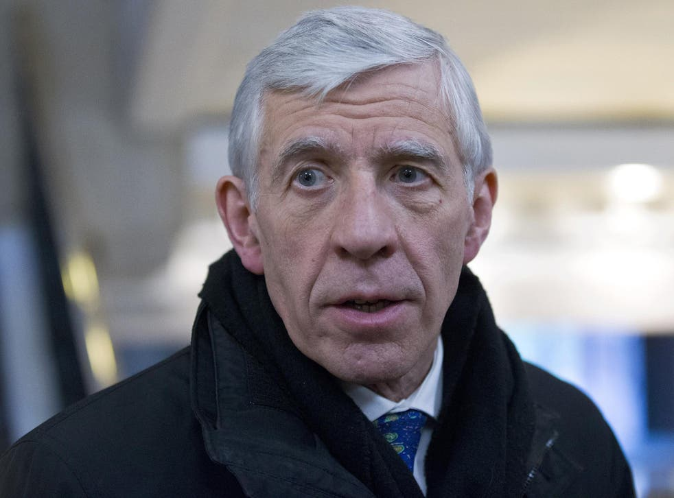 """Mr Straw has been accused of acting as an """"Establishment stooge"""""""