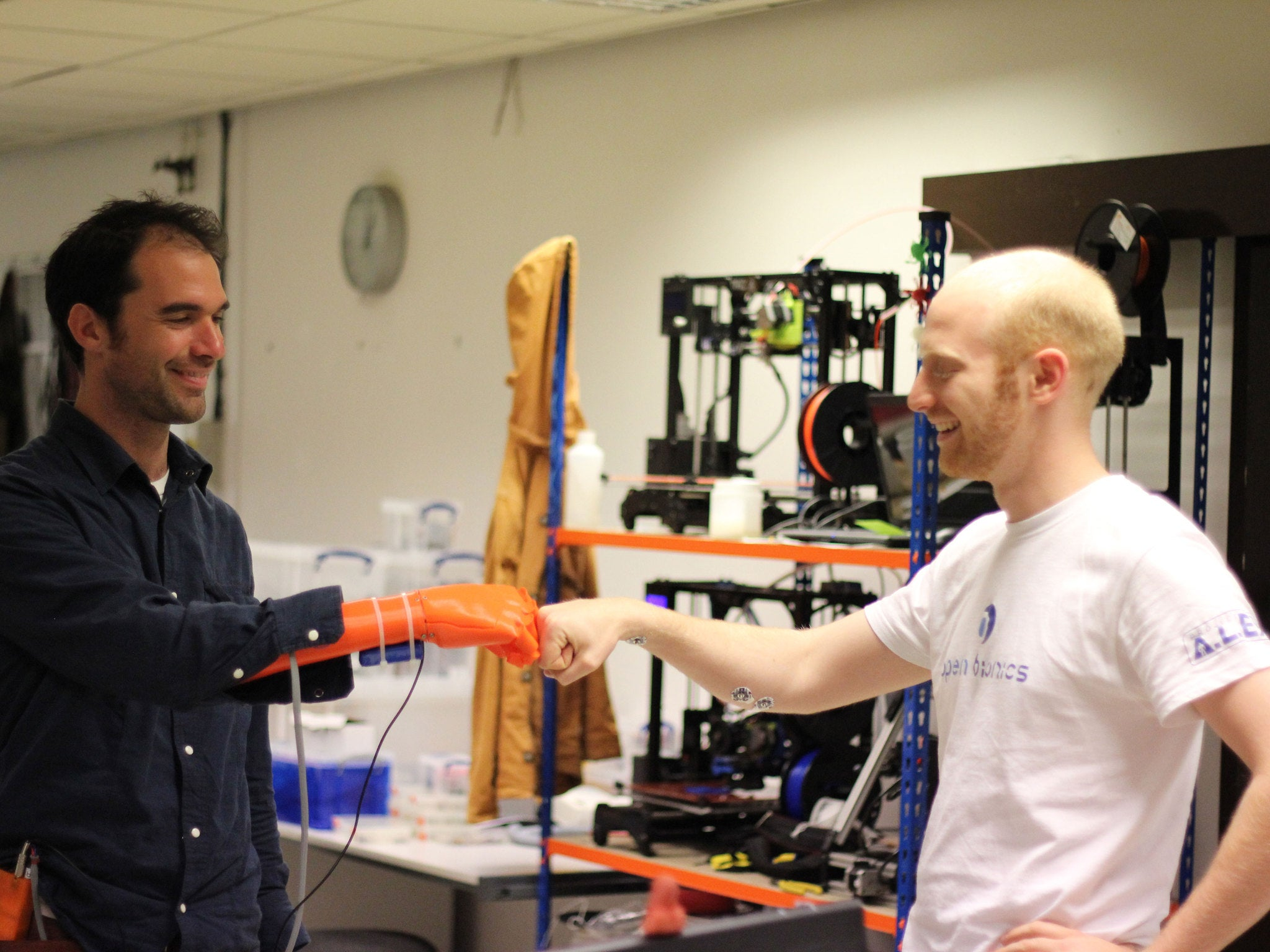 Cheap 3d printed bionic hand wins james dyson award could bring cheap 3d printed bionic hand wins james dyson award could bring robotic limbs to world the independent fandeluxe PDF