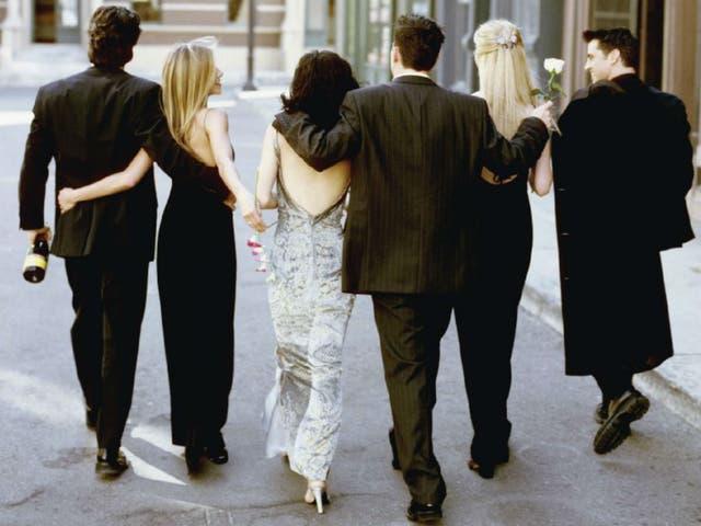 Afortunadamente, Friends tuvo un final mucho más feliz que el que Gareth Stanks ha imaginado.