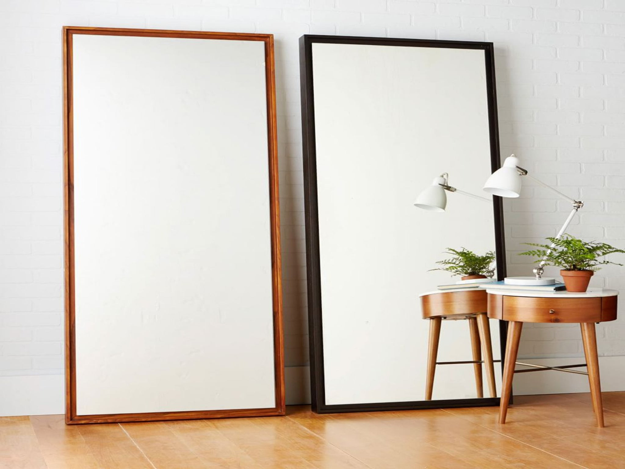10 best mirrors the independent for Black framed floor mirror