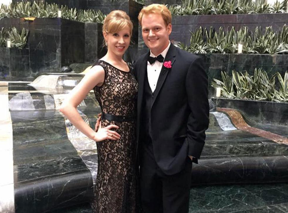 Alison Parker and Chris Hurst, who says the two had been in a nine month relationship