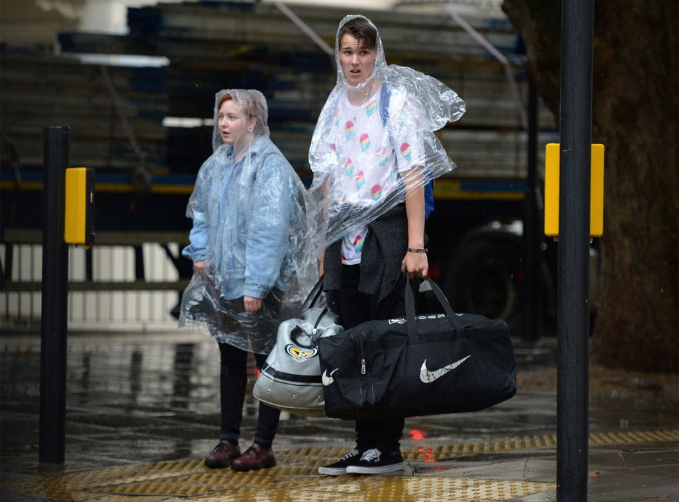 Downpours in London, a weak euro and stronger pound have hit tourism