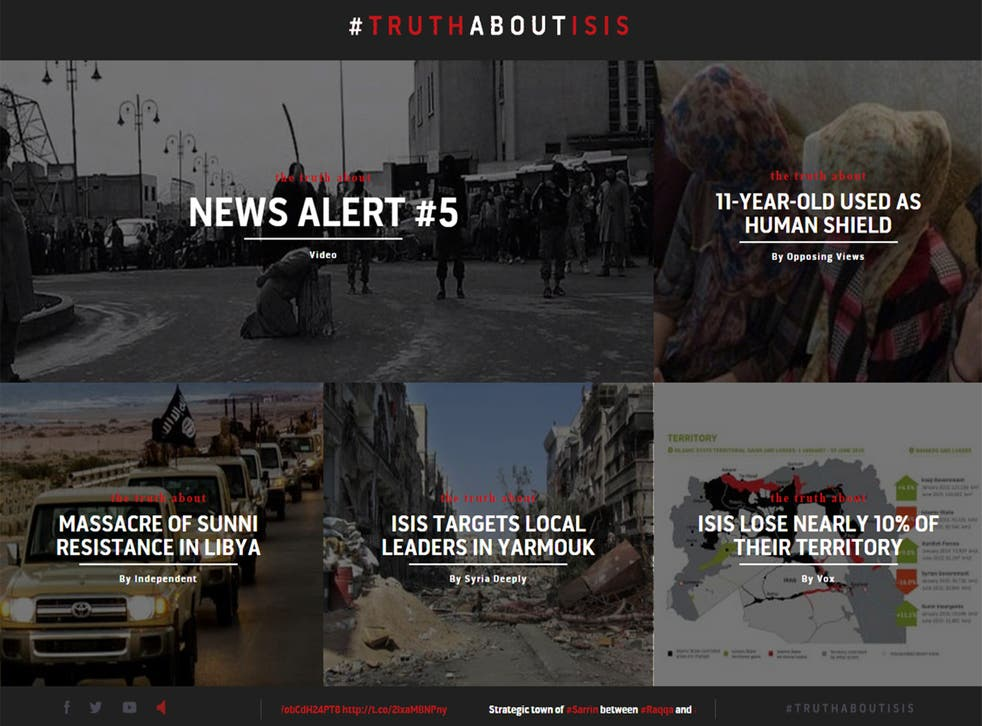 The website  attempts to highlight the brutality of the regime
