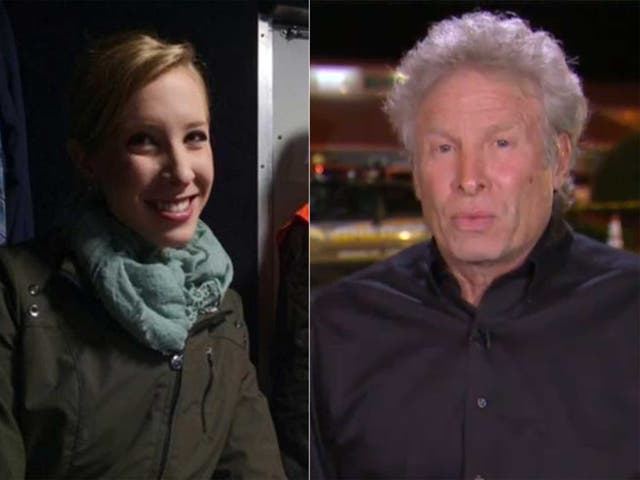 Alison Parker and her father Andy