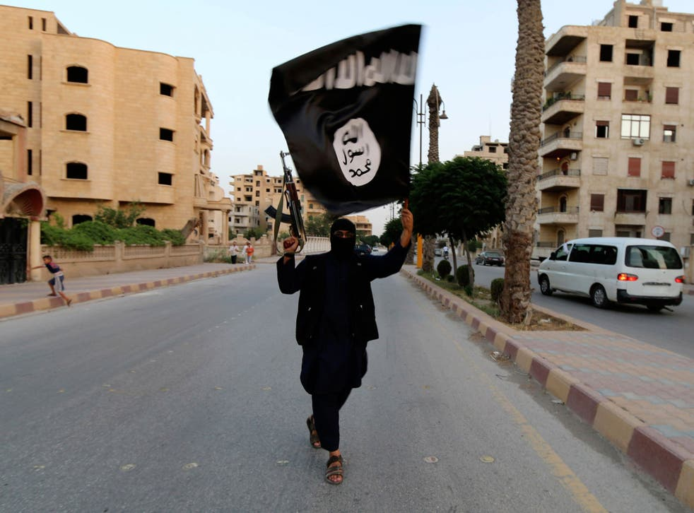 The strike in the heart of Isis' Syrian stronghold of Raqqa sent a 'strong message'