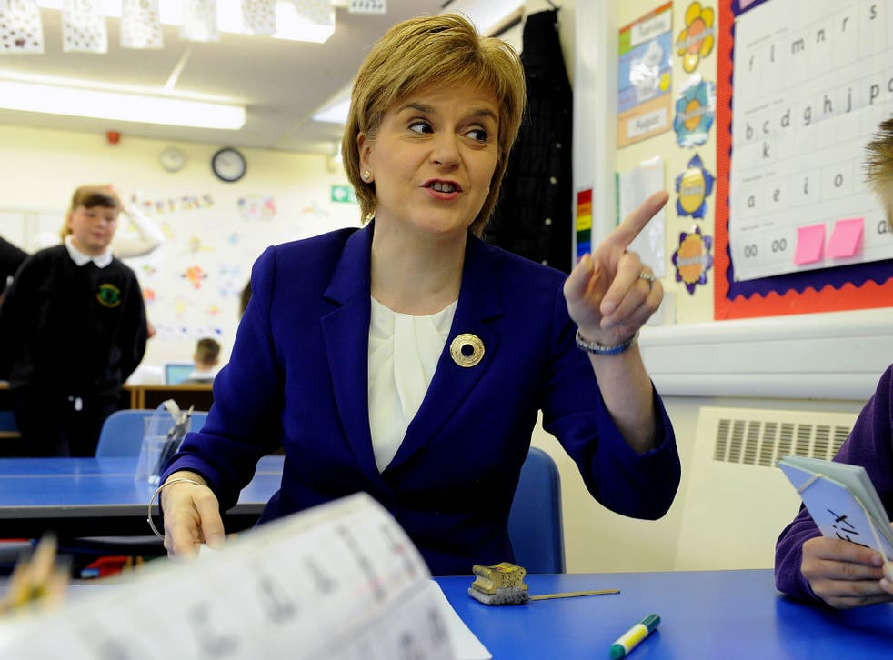Sturgeon said that Ed Miliband's biggest problem had been ruling out working with the SNP