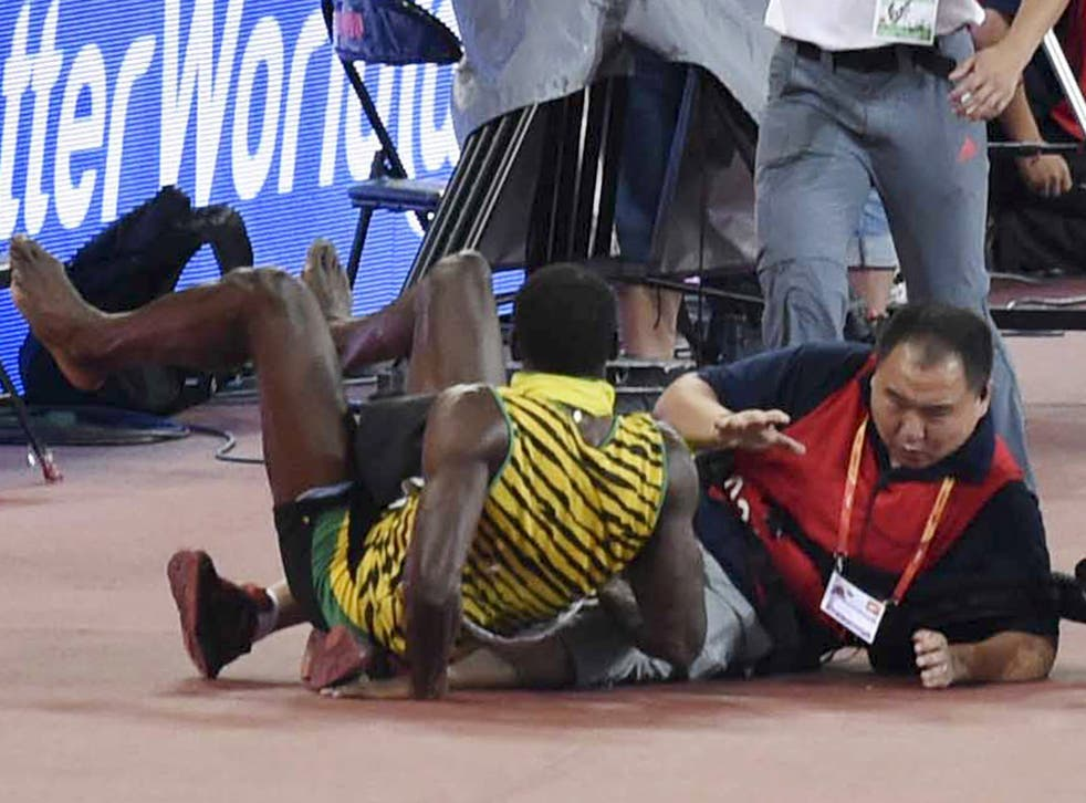 Usain Bolt segway incident in pictures after Chinese ...