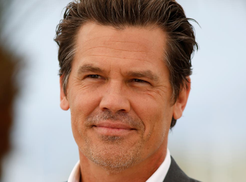 """Actor Josh Brolin attends a photocall for """"Sicario"""" during the 68th annual Cannes Film Festival"""