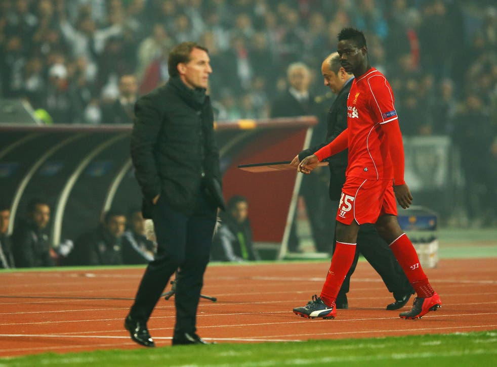 Brendan Rodgers says he did not want to sign Mario Balotelli