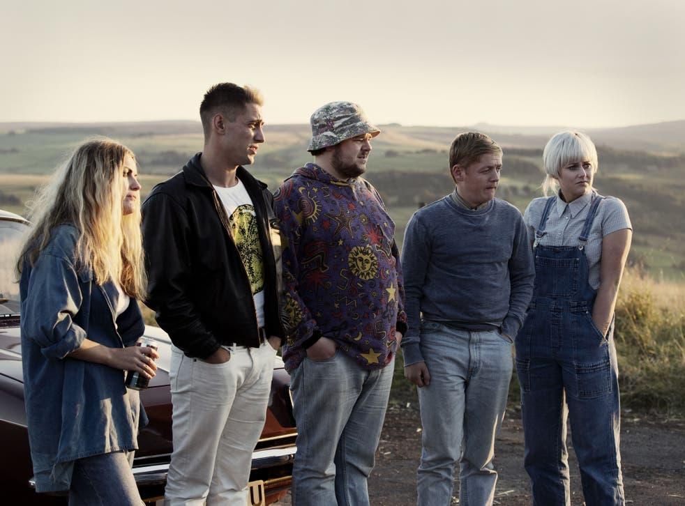 Hanel Cresswell as Kelly, Michael Socha as Harvey, Andrew Ellis as Gadget, Thomas Turgoose as Shaun and Danielle Watson as Trev