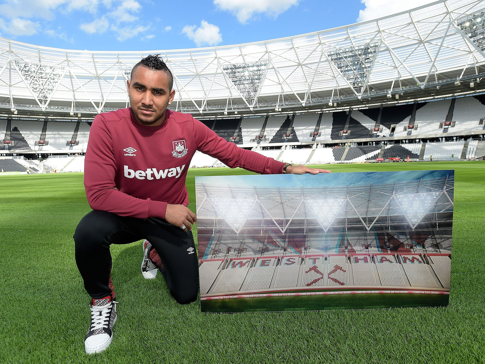 Liverpool vs West Ham Dimitri Payet excited by Olympic Stadium