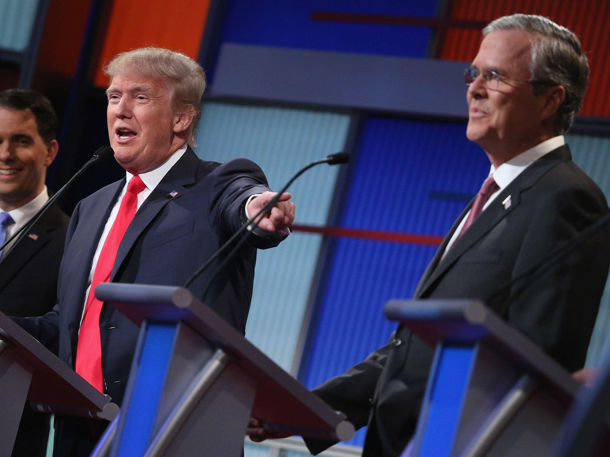 Poll: Donald Trump, Ben Carson, Carly Fiorina, Jeb Bush poll ...
