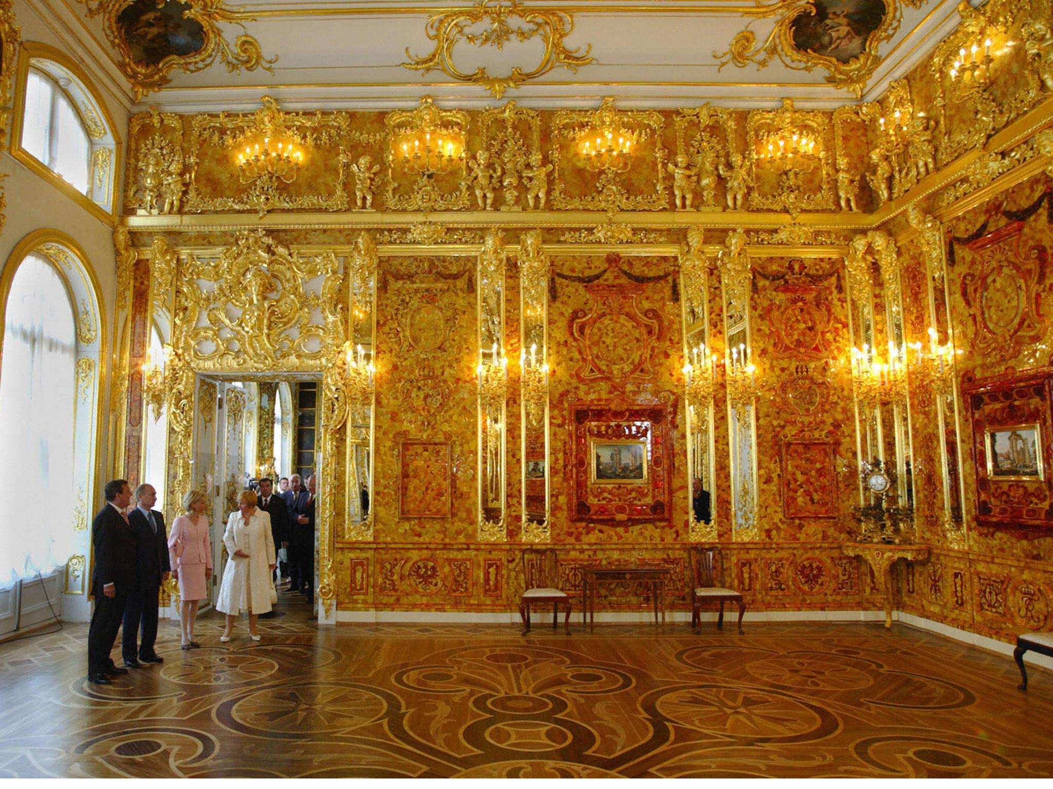 Amber Room Priceless Russian Treasure Stolen By Nazis