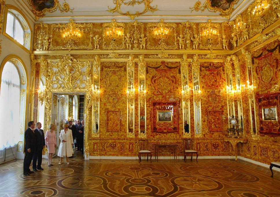 Amber Room: Priceless Russian treasure stolen by Nazis 'discovered ...