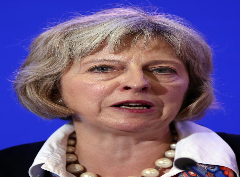Theresa May said she wanted to reinstate the original idea of free movement within the EU