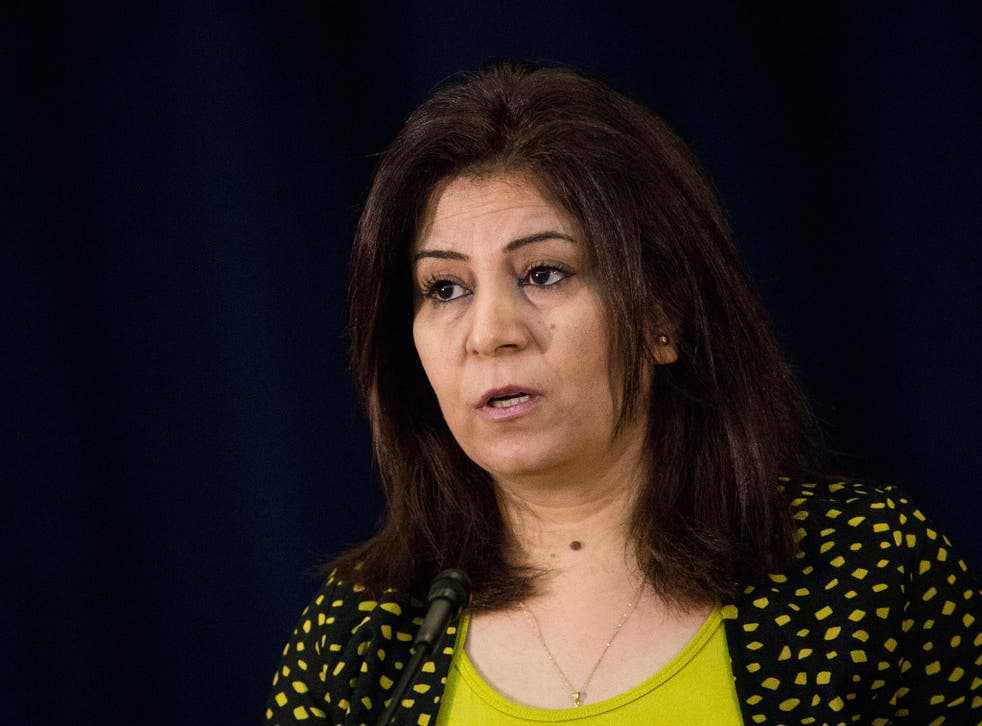 Ameena Saeed Hasan says most Yazidis no longer feel safe in their country after Isis attacks