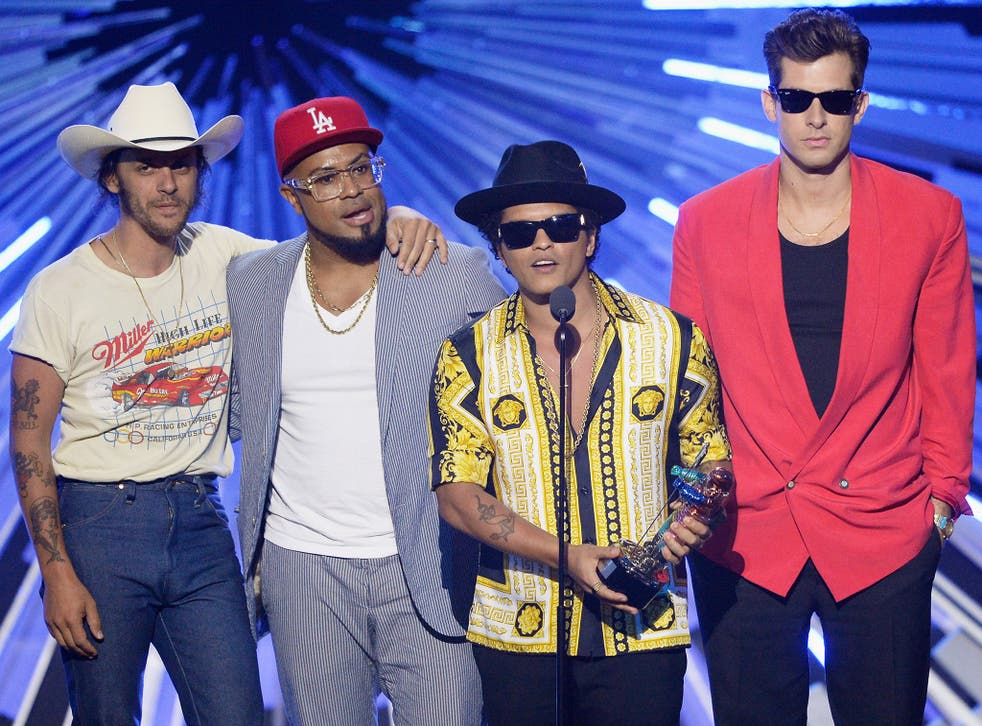 Uptown Funk, by Mark Ronson (right) now has 11 credited songwriters after artists demonstrated that the hit incorporated samples from them