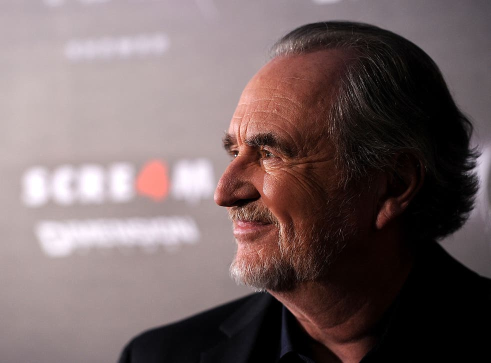 Writer/director Wes Craven in Hollywood in 2011
