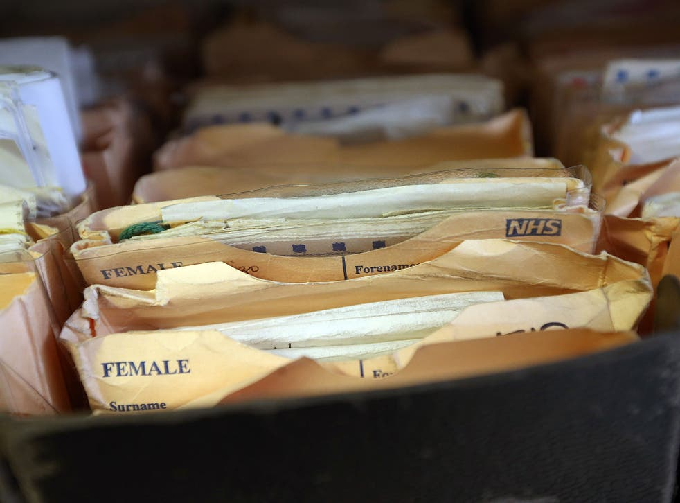 The annual cost of storing paper records is up to £1m for each healthcare trust, according to government estimates