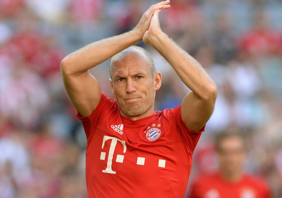 977667cf2 Arjen Robben ( ). Manchester United are again linked with a move for Bayern  Munich winger ...