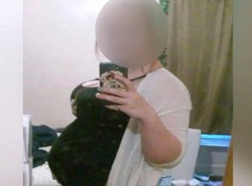 The teenager allegedly faked her pregnancy for 10 months