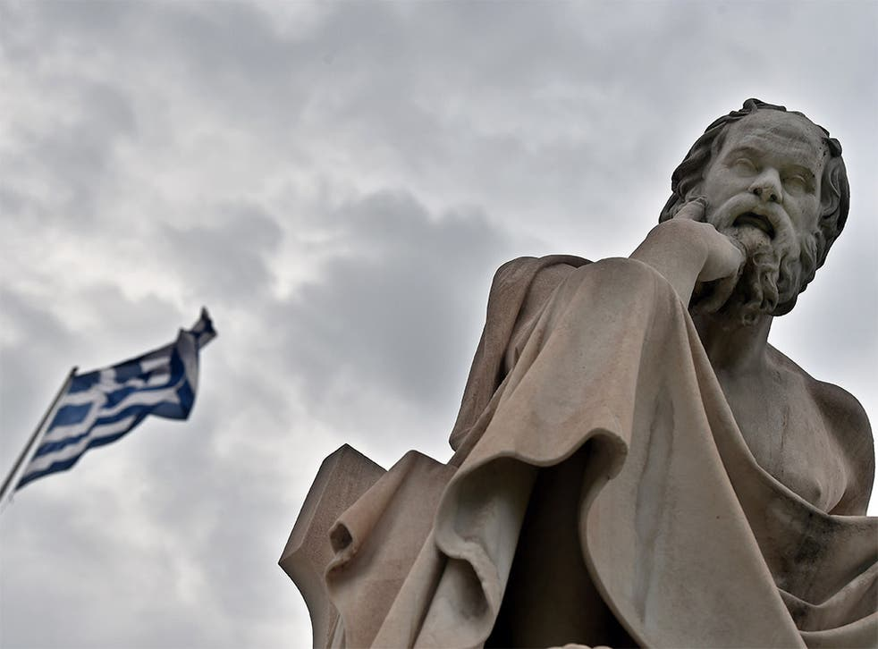 Greek philosopher Socrates formulated an education system based on critical thinking