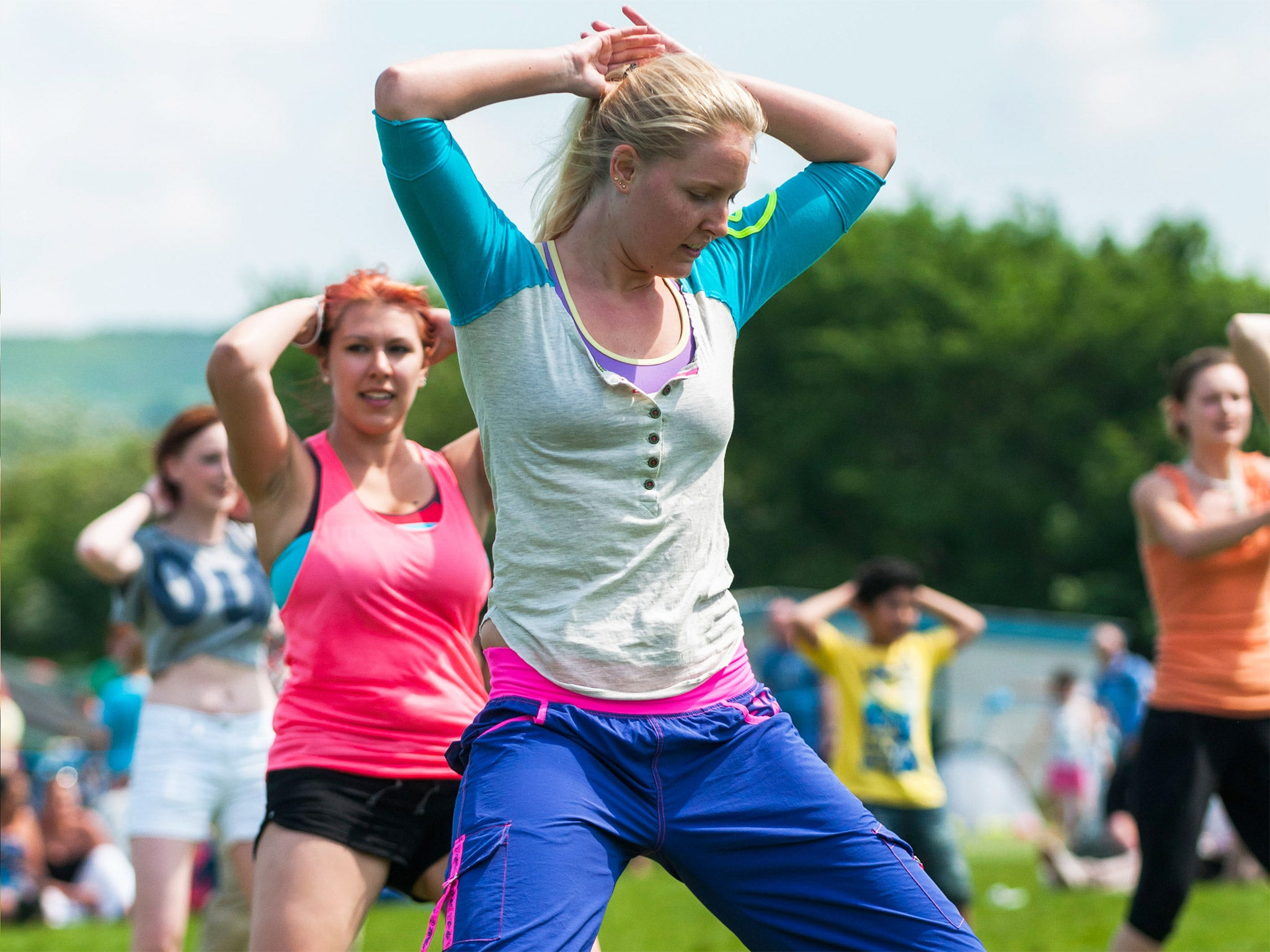 Nhs Staff To Be Encouraged Take Up Zumba Set National Example Dance Steps Diagram Basic Of Healthy Lifestyles The Independent
