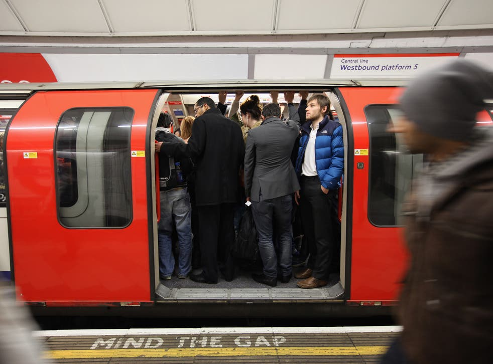 Train driver union, Aslef, believe overcrowding has contributed to the increase