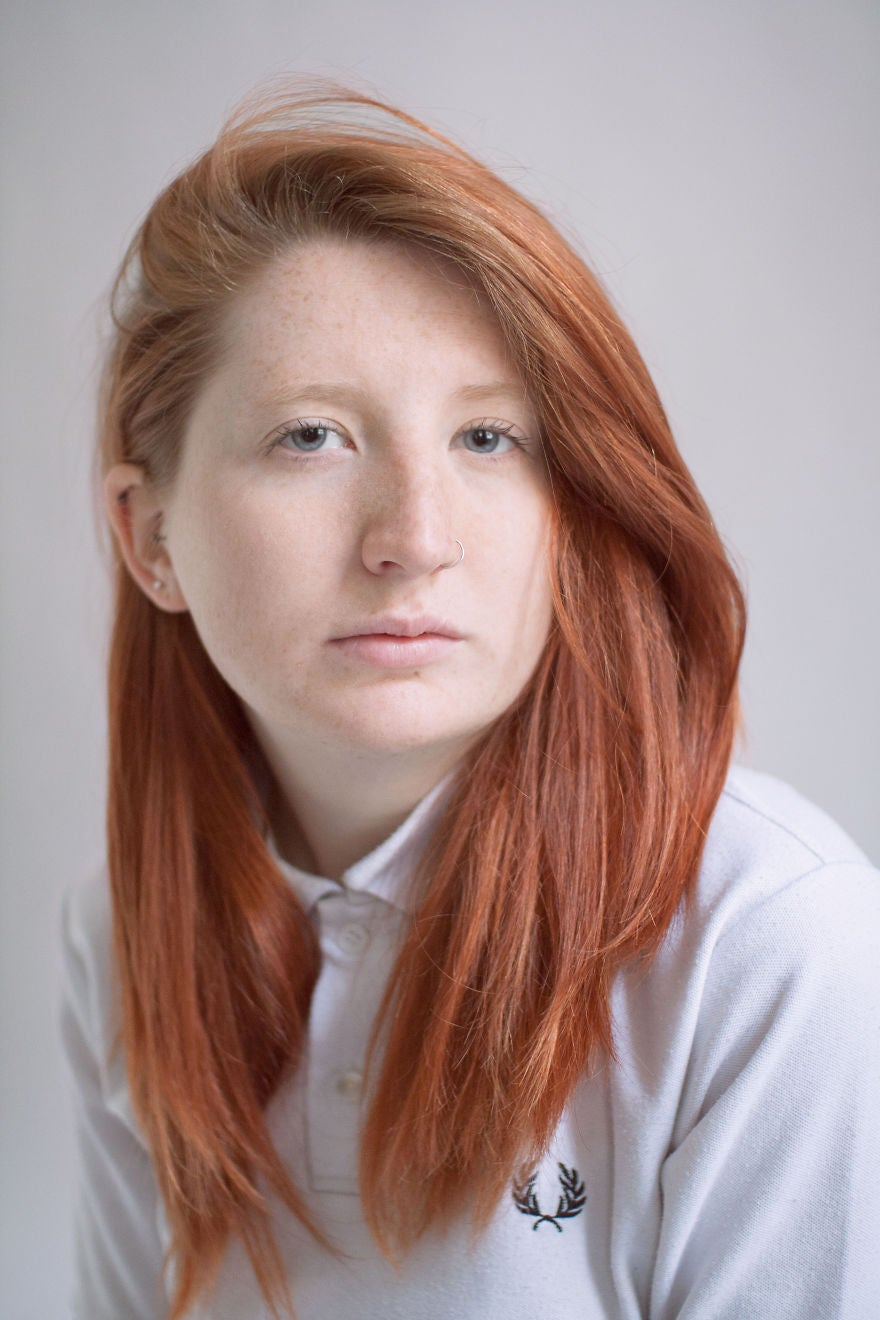 Photographer Fights Ginger Discrimination With Vivid Portraits Of Threads You