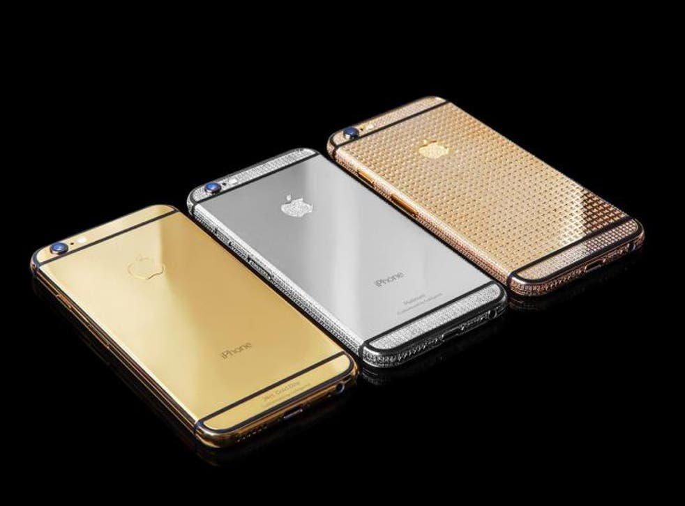 Iphone 6s Pre Orders Open For Handsets Covered In 24k Gold Diamonds The Independent The Independent