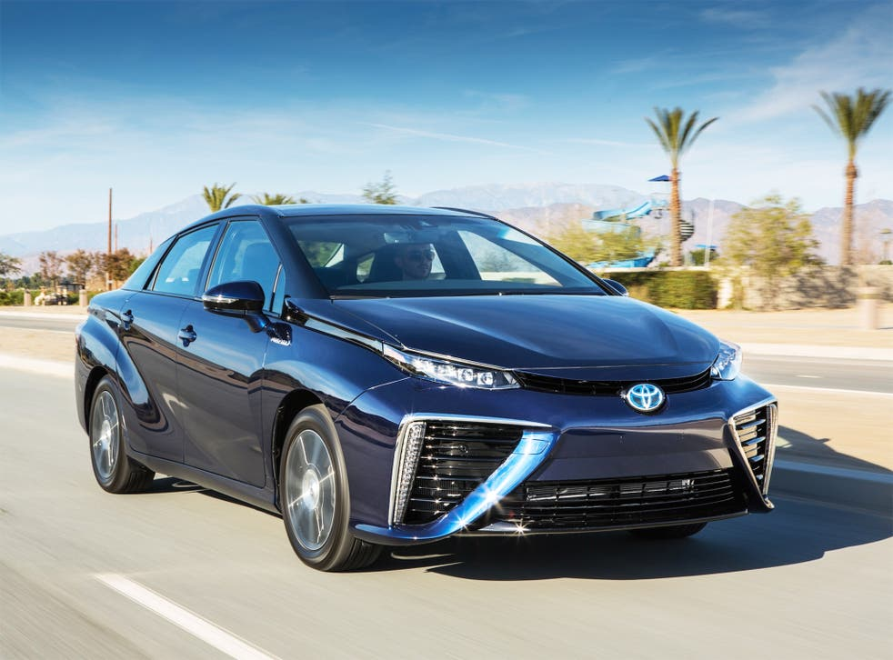 The new Toyota Mirai can be refuelled in just five minutes