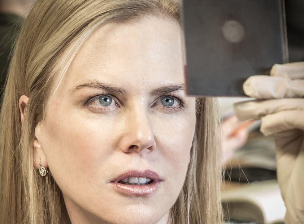 Bigger picture: Nicole Kidman as Rosalind Franklin in Photograph 51