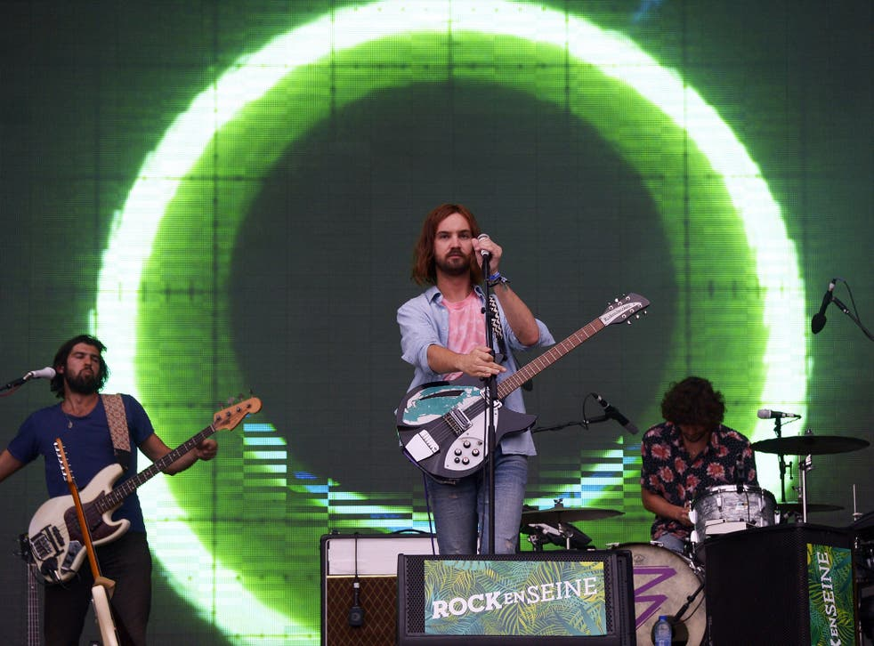 Australian psychedelic rockers Tame Impala top the chart
