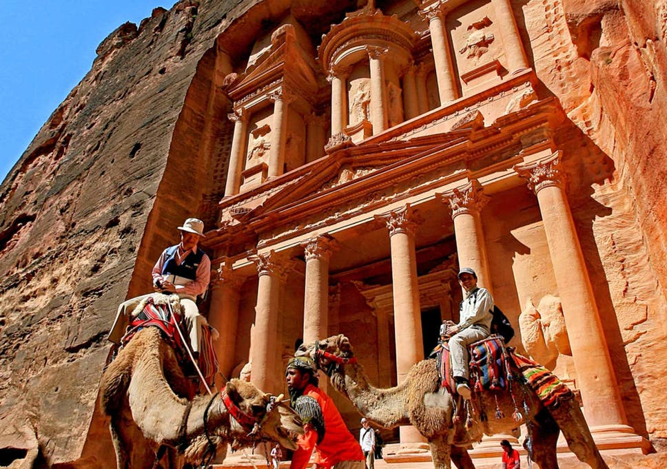 best sneakers 8fed3 ede37 How Jordan is trying to reassure tourists  Exploring Petra, Wadi Rum, and a  Bedouin camp