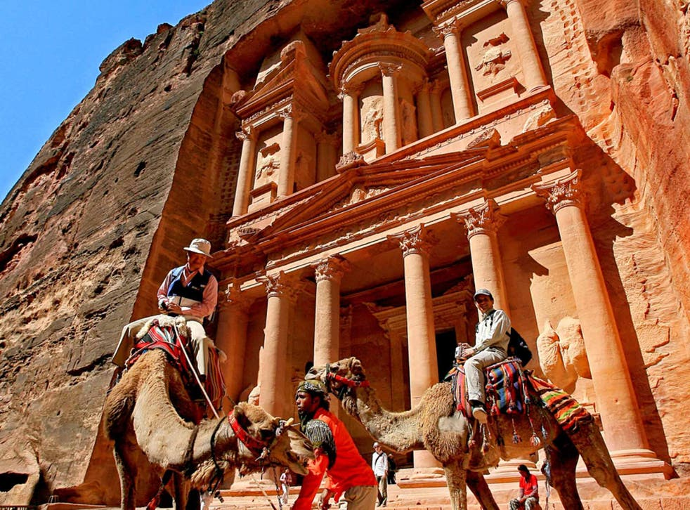 Set in stone: Petra's architecture still has the power to amaze