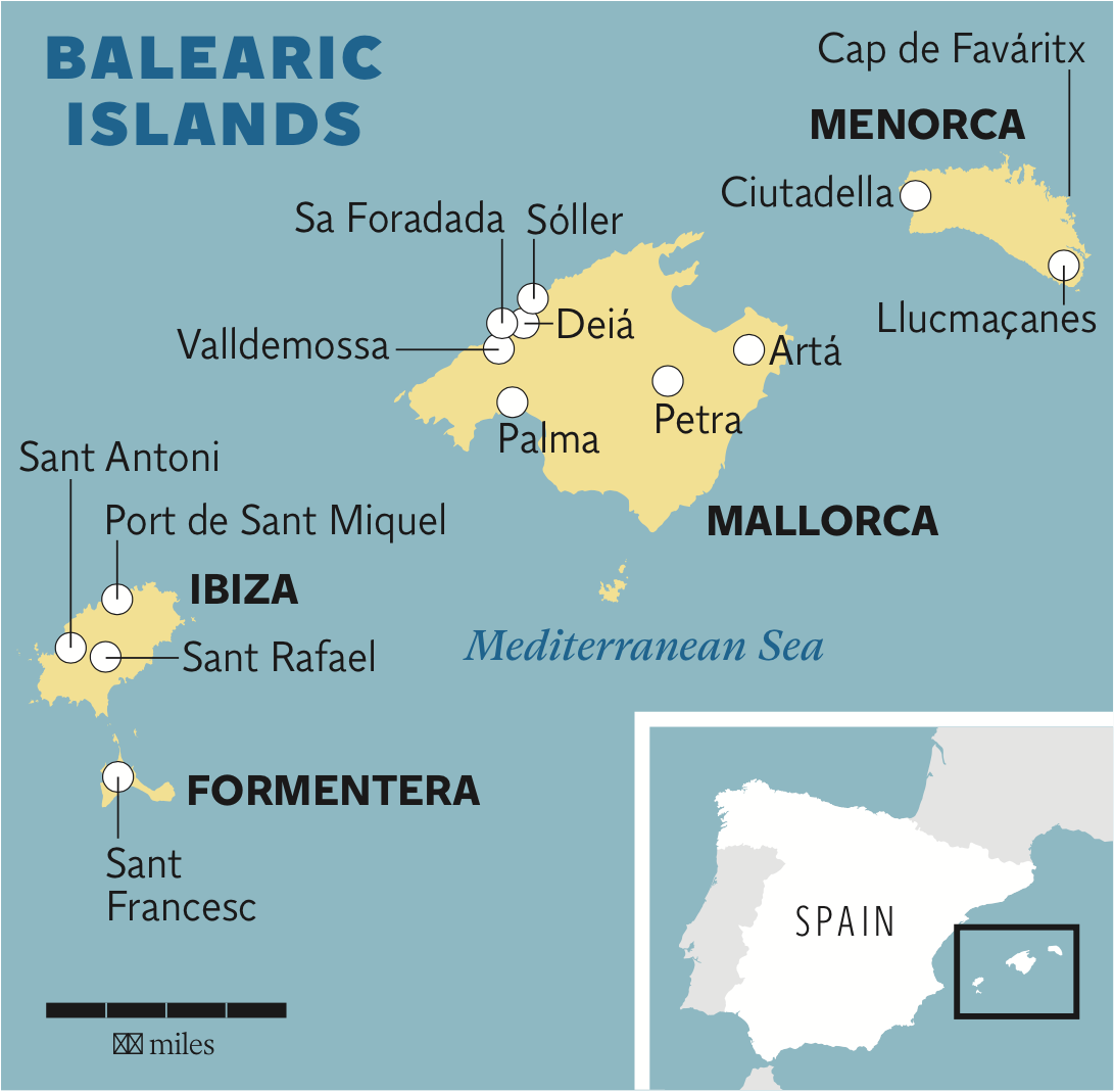 Biking the Balearics | The Independent