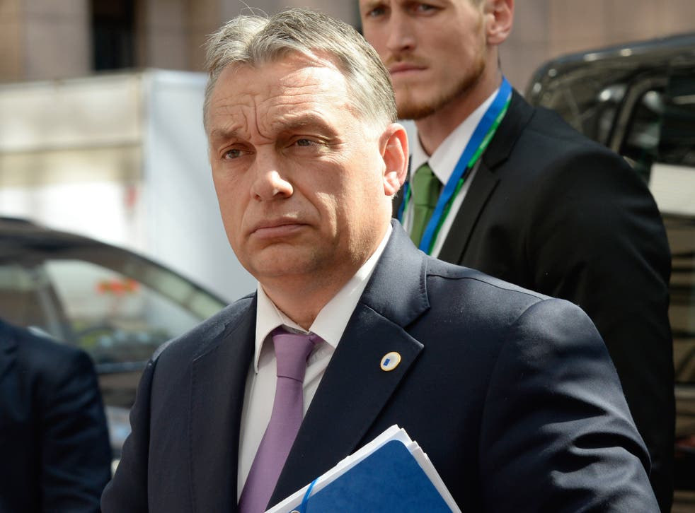 Mr Orban has several times antagonised his EU colleagues over the refugee crisis