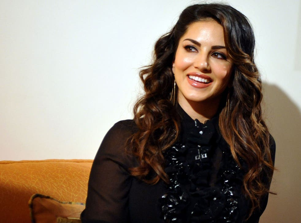 Actress Sunny Leone stars in the adverts