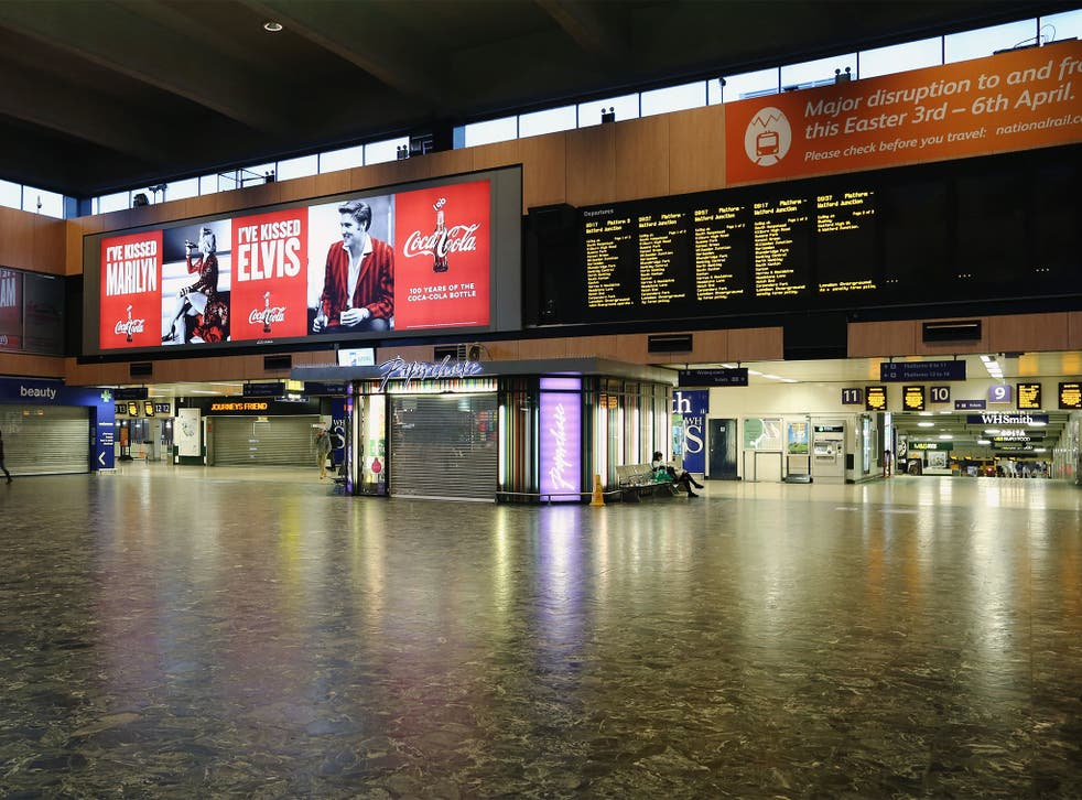 Nicole Sedgebeer was rescued by a homeless man at Euston Station after she missed her last train home
