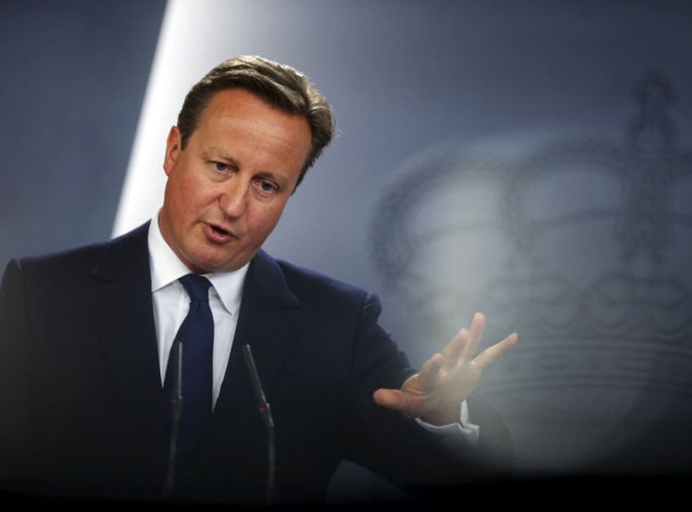 David Cameron is facing pressure to accept more Syrian refugees