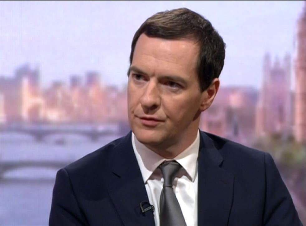 George Osborne appears on the Andrew Marr Show on Sunday 6 September to discuss the Government's response to the refugee crisis