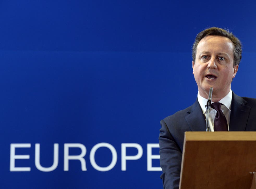 David Cameron has pledged to achieve real reform of the EU before putting it to voters (Getty)