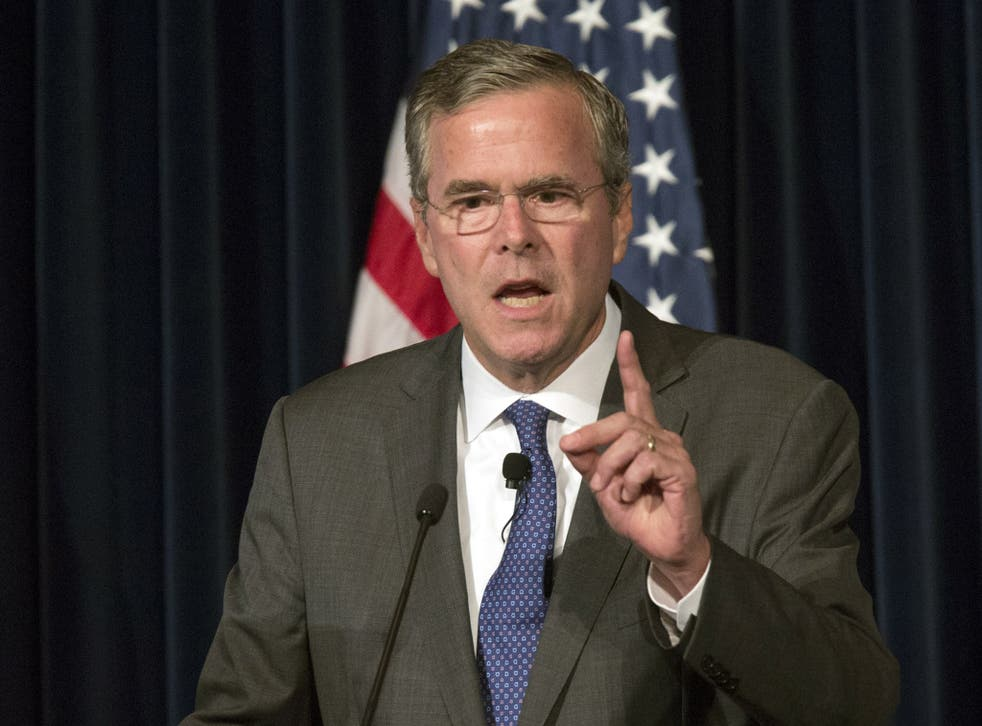 Jeb Bush says that every day Donald Trump attacks him 'with barbarities'