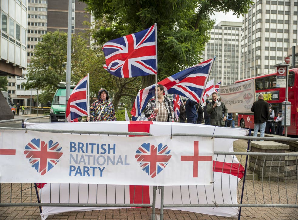 If you don't believe that xenophobia and racism exists in this country, look no further that BNP rallies